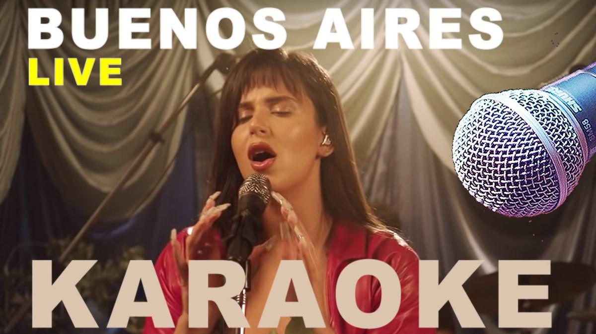 Karaoke Nathy Peluso BUENOS AIRES LIVE