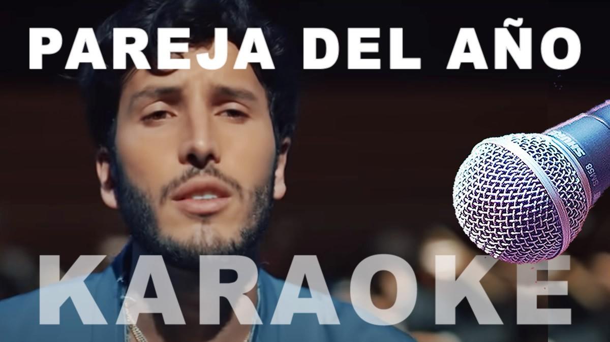 Sebastian Yatra karaoke Pareja del Año