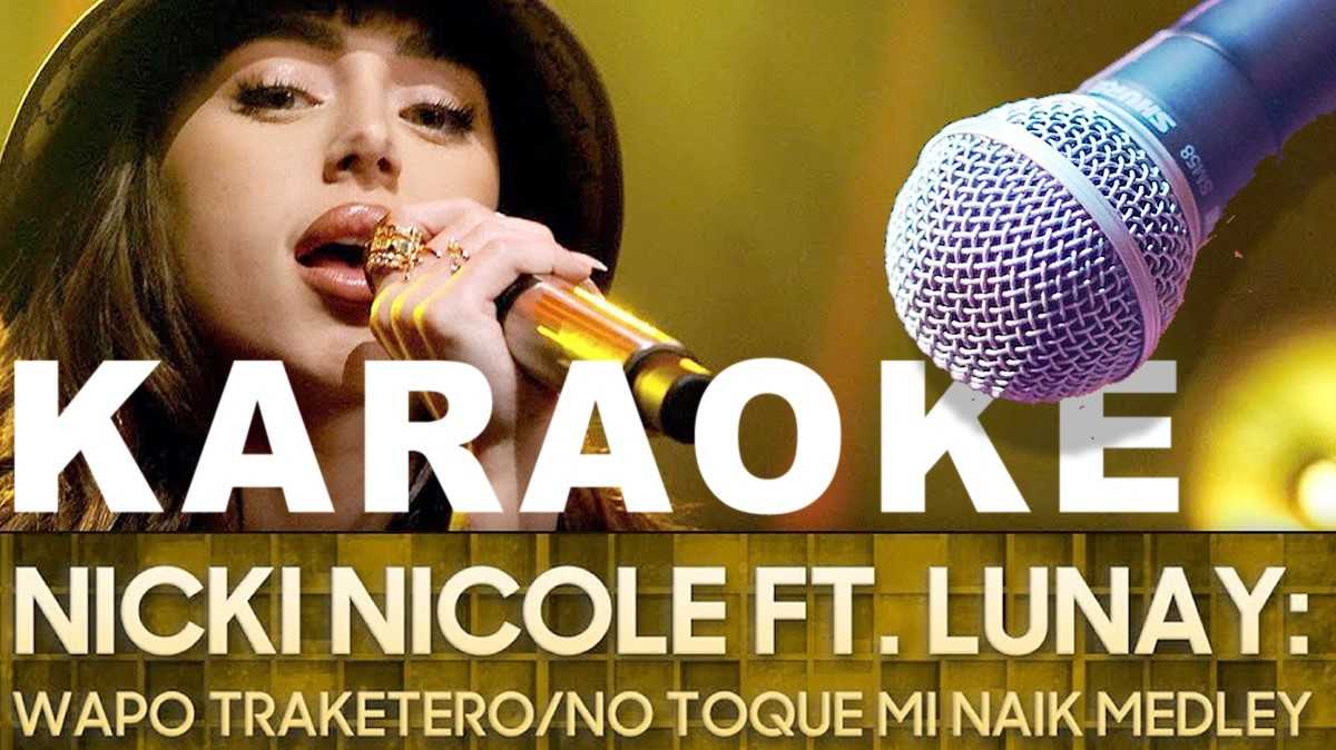 Karaoke Nicki Nicole The Tonight Show Amazon KARAOKE