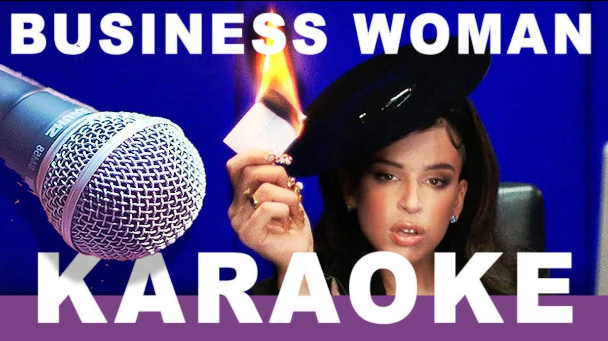Business Woman de Nathy Peluso Karaoke y letra